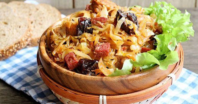 Бигус — классический рецепт очень вкусного польского блюда
