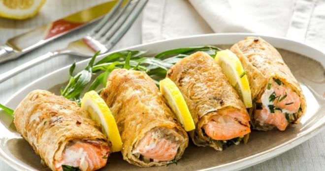 Рыба в лаваше запеченная в духовке