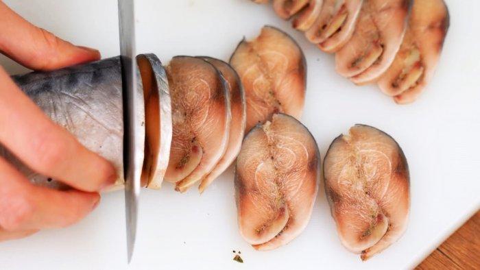 Рецепт малосольной скумбрии