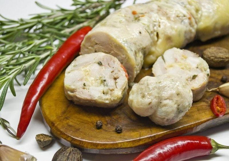 Рецепт домашней колбасы из индейки и специй