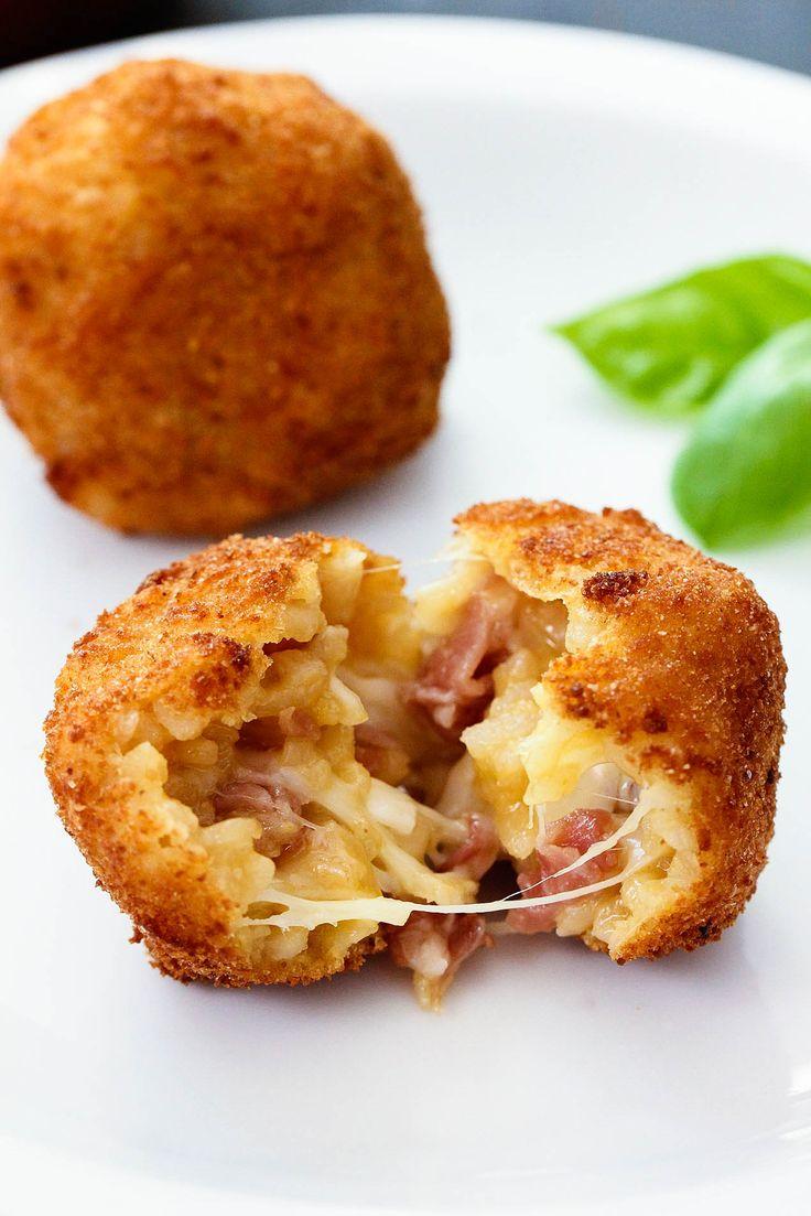 Аранчини — итальянские рисовые шарики