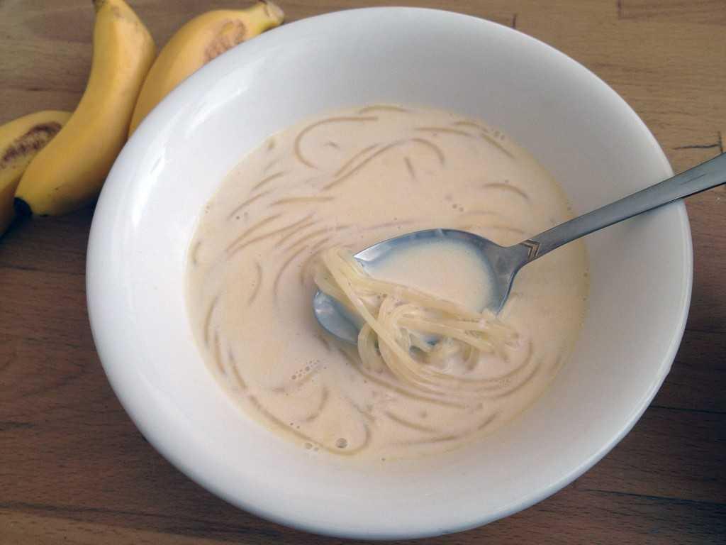 Молочная лапша – как варить?