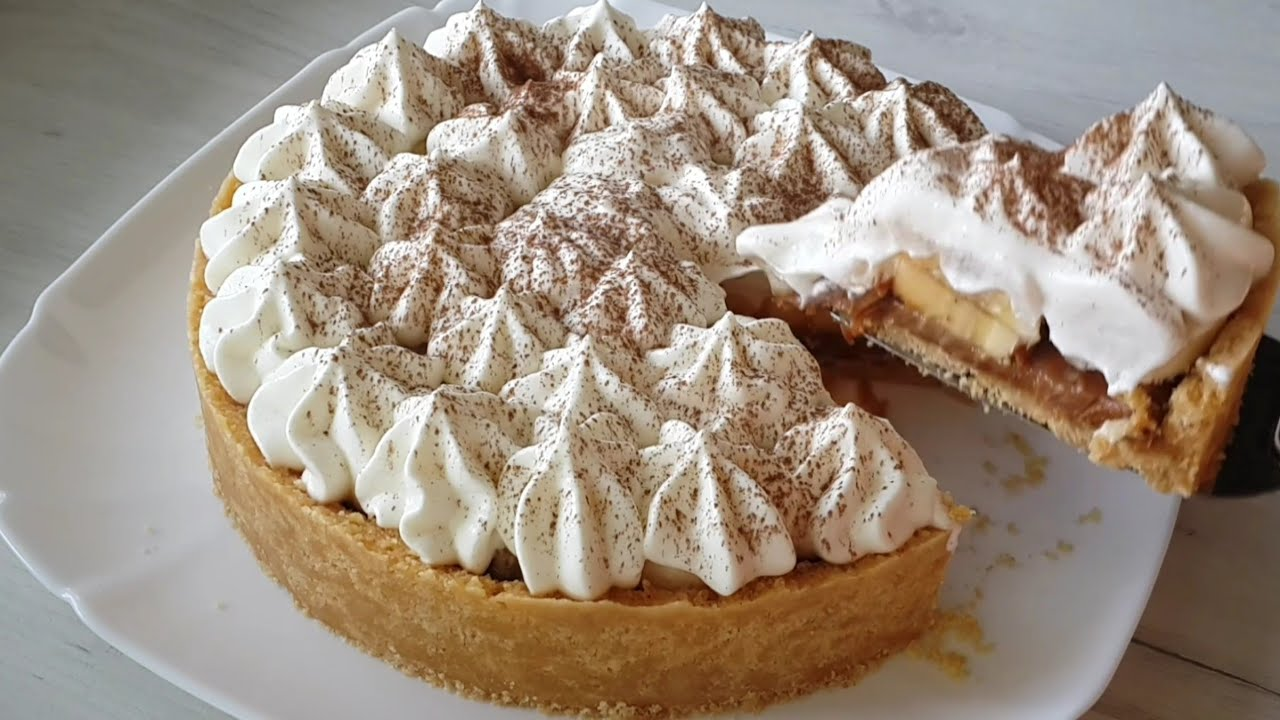 Баноффи — английский десерт без выпечки