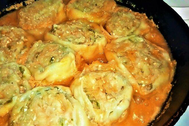 Вкусные мясные шарики с овощами