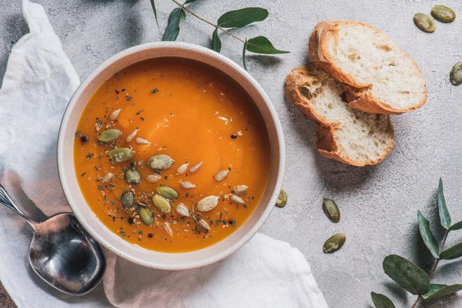 Тыквеный суп