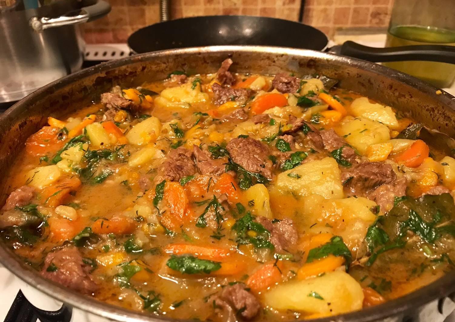Картофель по-афгански