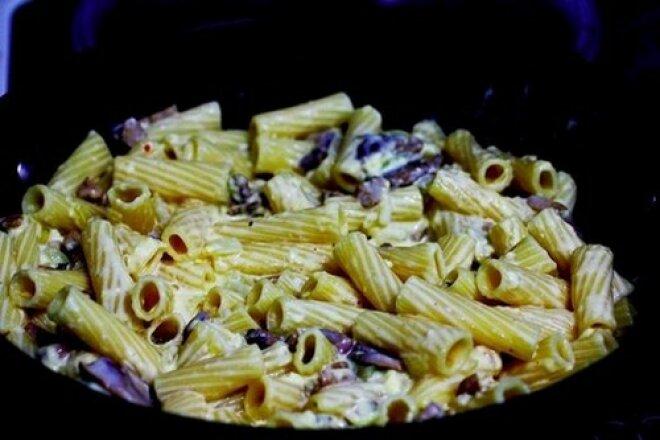 «Карбонара» без бекона или паста с грибами