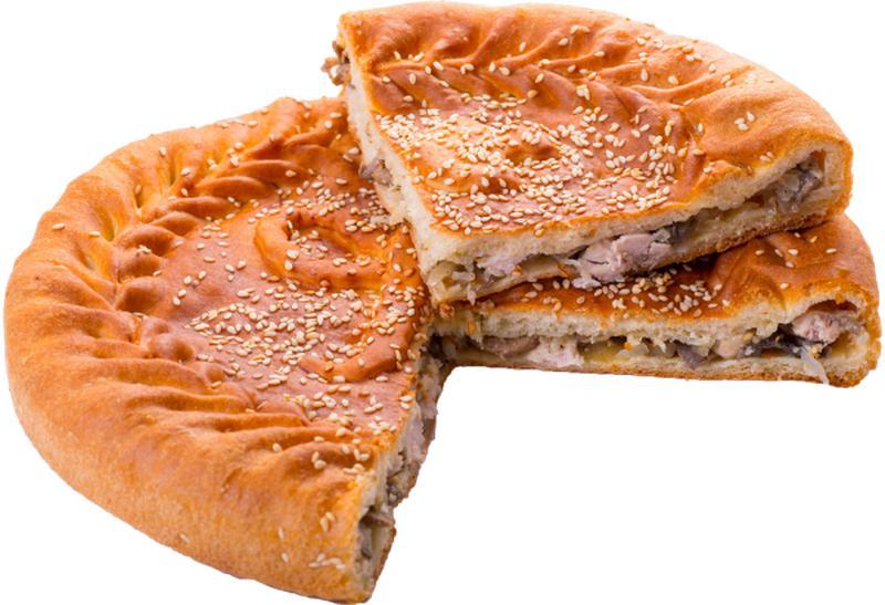 Мясной пирог «Бычок»
