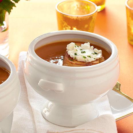Суп из тыквы с яблоками