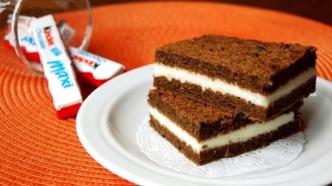 Детское пирожное «Киндер Милк-Слайс» — идеальный рецепт для всех детей