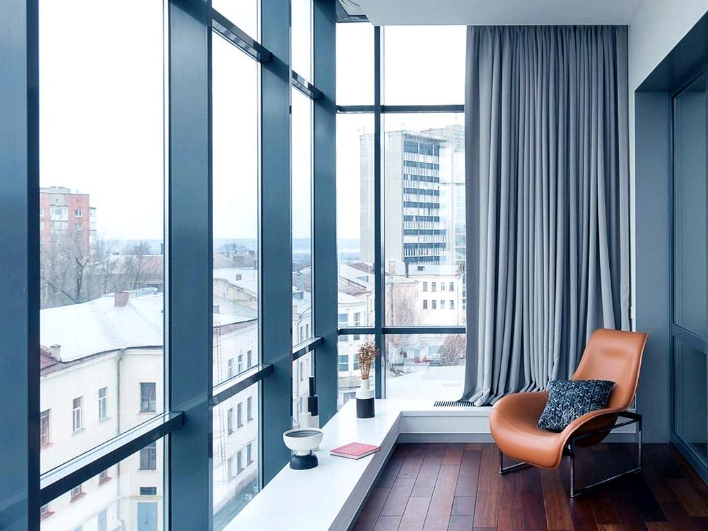Современные виды остекления балконов