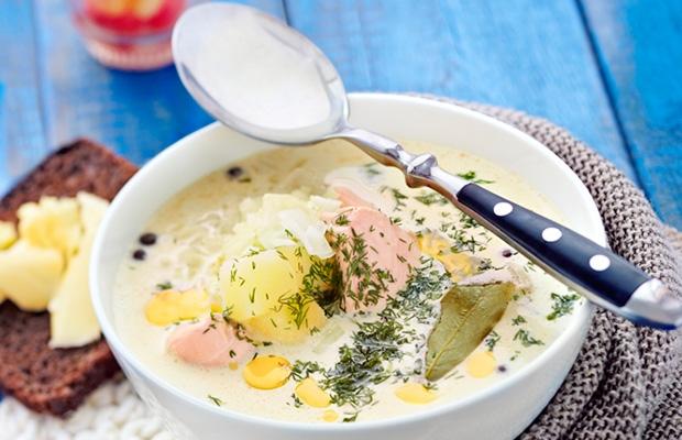 Суп лохикитто по-фински