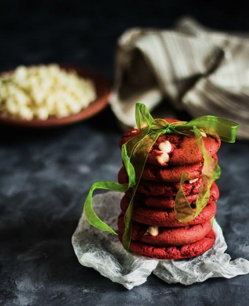 Красный бархат с сырным кремом