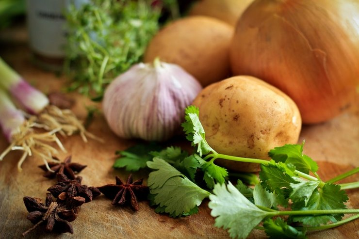 Рецепт постных картофельных шариков