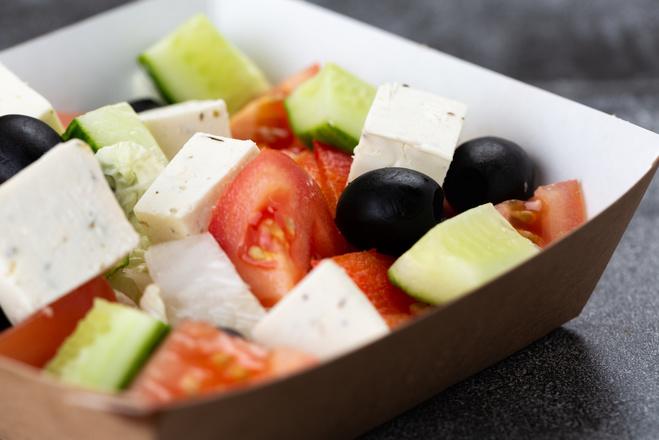 Овощной летний салат для похудения