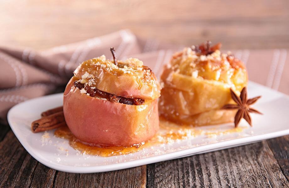 Запеченные яблоки «Рождественские»