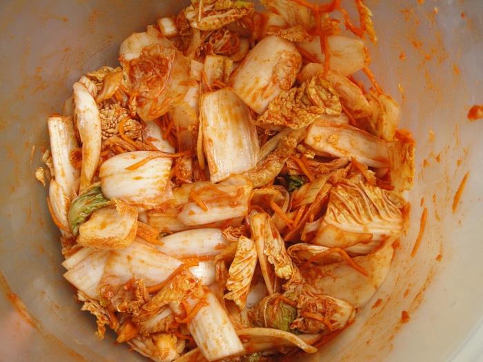 Пекинская капуста по-корейский быстрого приготовления