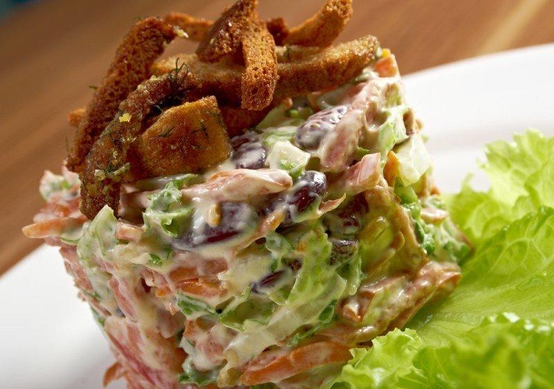 «Пивной» салат