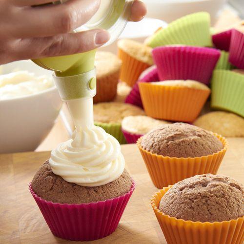 Кексы в формочках
