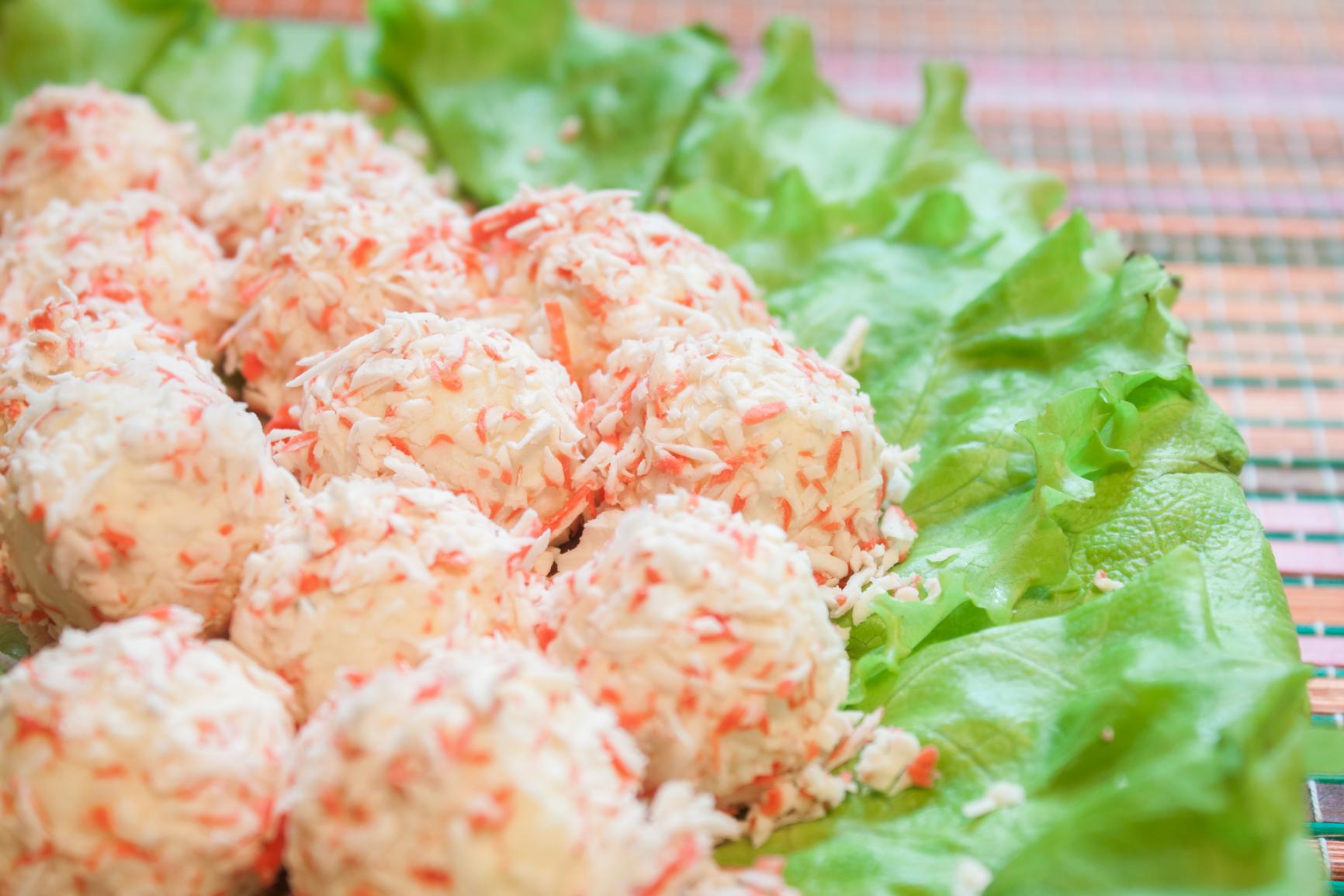 Закуска «Сырные шарики»