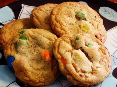 Домашнее печенье (с M&M's)