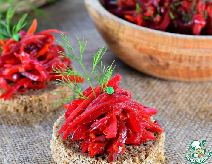 Овощная икра «Борщевая»